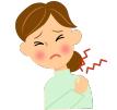 首の痛み・頚椎症・退行性変性・ムチ打ち、肩こり、ストレートネック、退行性変性、僧帽筋の緊張、斜角筋症候群