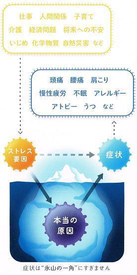 東京都台東区の整体-PAOカイロプラクティック上野・御徒町-症状は氷山の一角