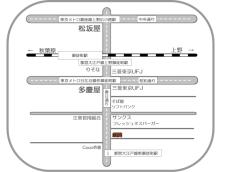 PAOカイロプラクティックアクセスマップ